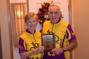 Bob and Pat Kehoe Receive JBC Lifetime Membership Award