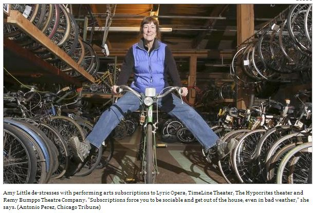 Local Article on Bikes and Charities